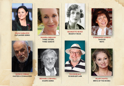 HISTORICAL AUTHORS' HALL OF FAME