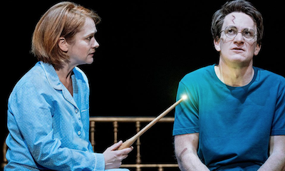 Actors playing Harry Potter, Ron and Hermione on stage revealed