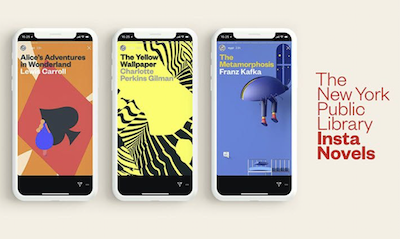 Sick of scrolling through artful brunch pics and gym seflies? Read classic literature on Instagram for free now
