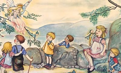 Pixie O'Harris paintings discovered in a hospital storeroom