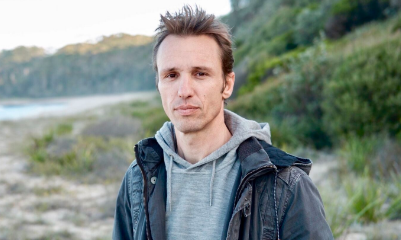 Markus Zusak, author of The Book Thief, returns after a decade of crippling writer's block
