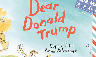 Dear Donald Trump: Kiwi author's picture book to be published in the UK