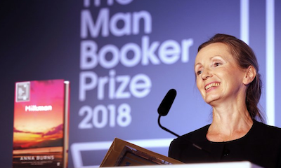 Book about a young woman sexually harassed by a powerful man in Troubles Ireland wins Man Booker