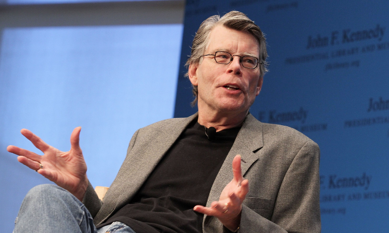 You can obtain permission to adapt stories by Stephen King for just $1