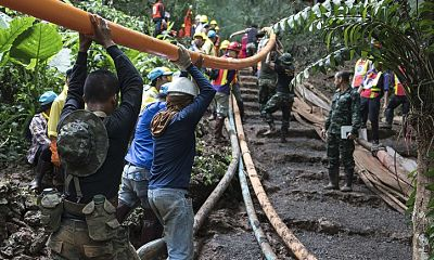 Publisher announces book release about the Thai cave rescue