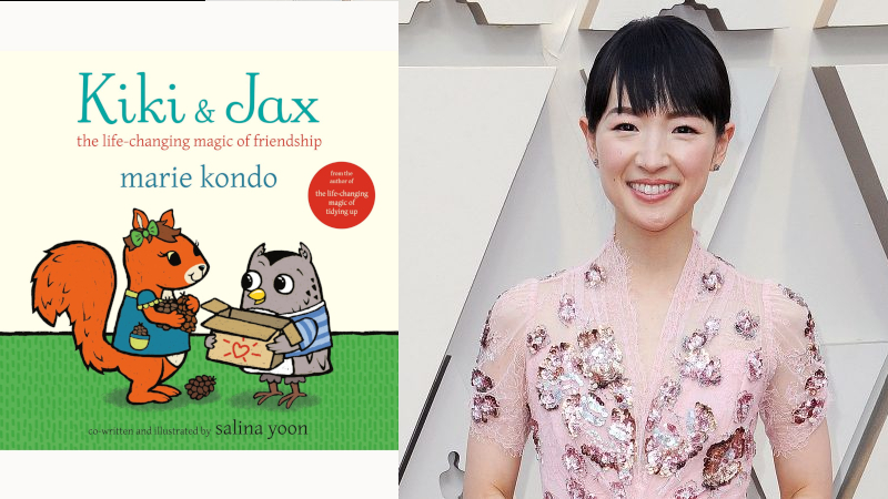 Marie Kondo to spark joy in your kids with her new picture book