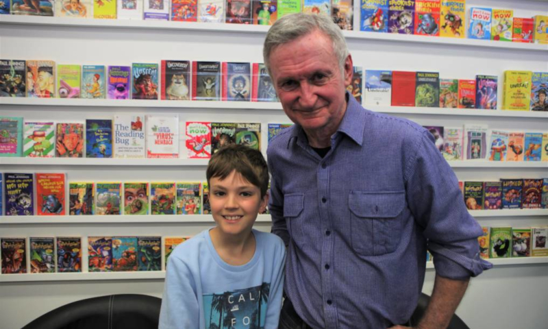 Paul Jennings wins CBCA Lifetime Achievement Award