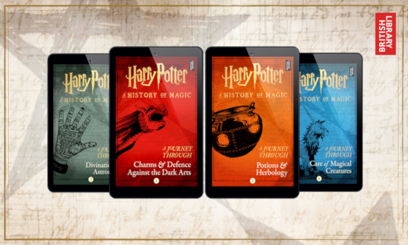 Pottermore announces e-book exclusive series based on Harry Potter: A History of Magic