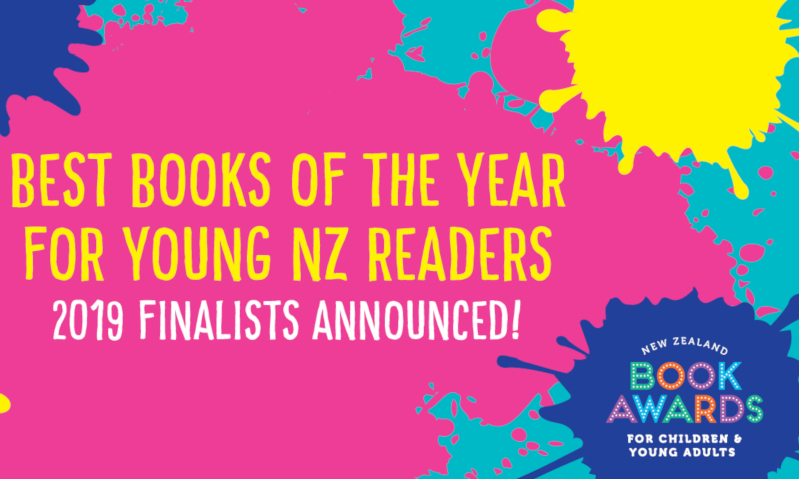 NZ Book Awards announce 2019 finalists for Children and YA