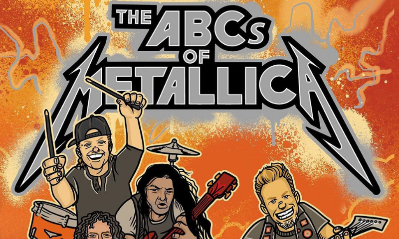 Metallica are releasing a picture book for charity