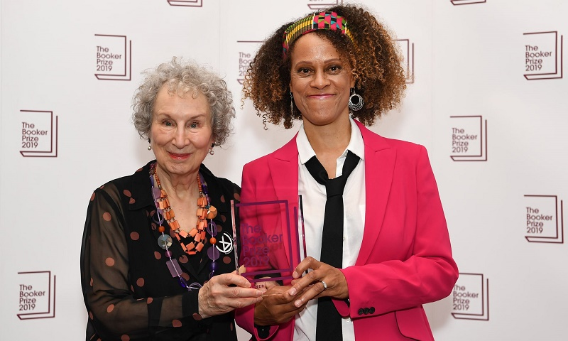 Margaret Atwood and Bernardine Evaristo share the 2019 Booker Prize