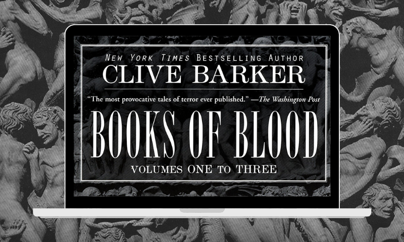 Clive Barker's Books of Blood is getting a movie adaptation