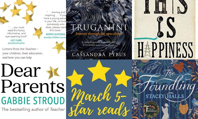 Marvellous March: 5-star reviews from gr