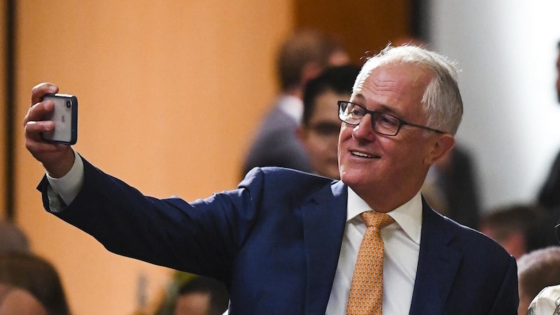 Turnbull memoir pirated within the Prime Minister's Office