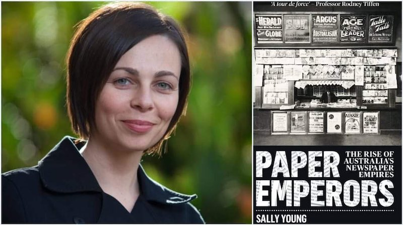 Paper Emperors by Sally Young wins 2020 Roderick Literary Award