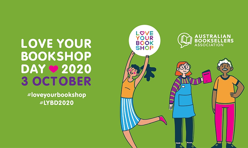 Love Your Bookshop Day is heading online 3 October