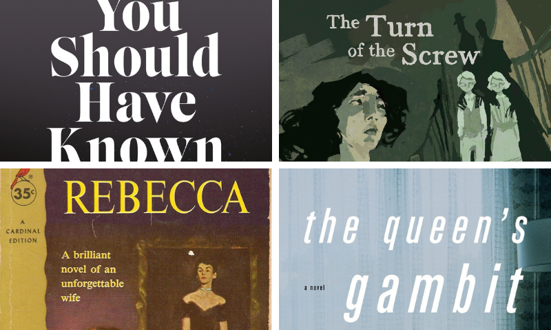 A bunch of book adaptations are hitting streaming services this October