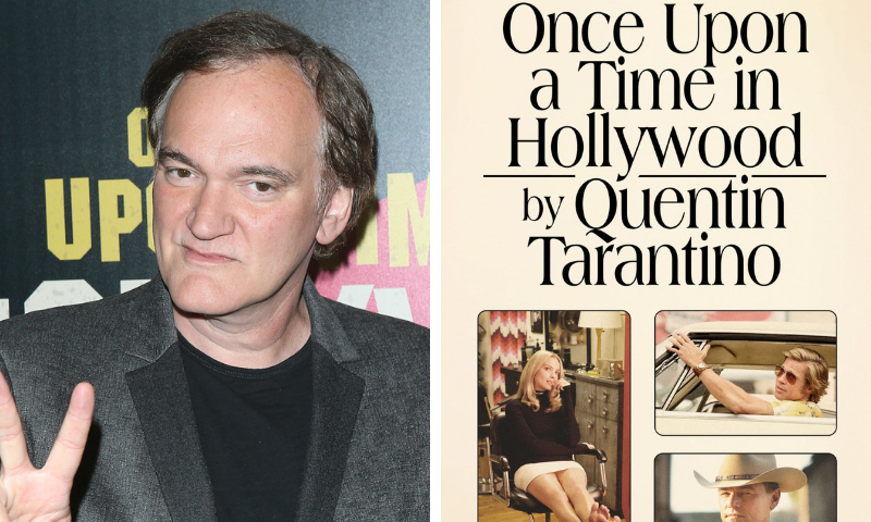 Quentin Tarantino is releasing 2 new books, including a novelisation of 'Once Upon a Time in Hollywood'