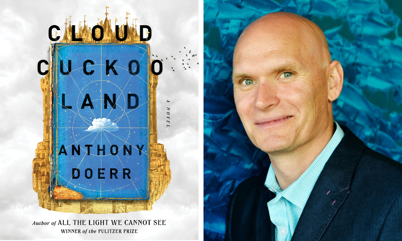 Anthony Doerr announces new novel, titled 'Cloud Cuckoo Land'
