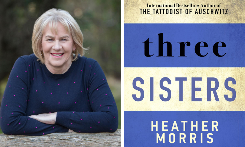 Heather Morris announces final book in her 'Tattooist' trilogy, 'Three Sisters'