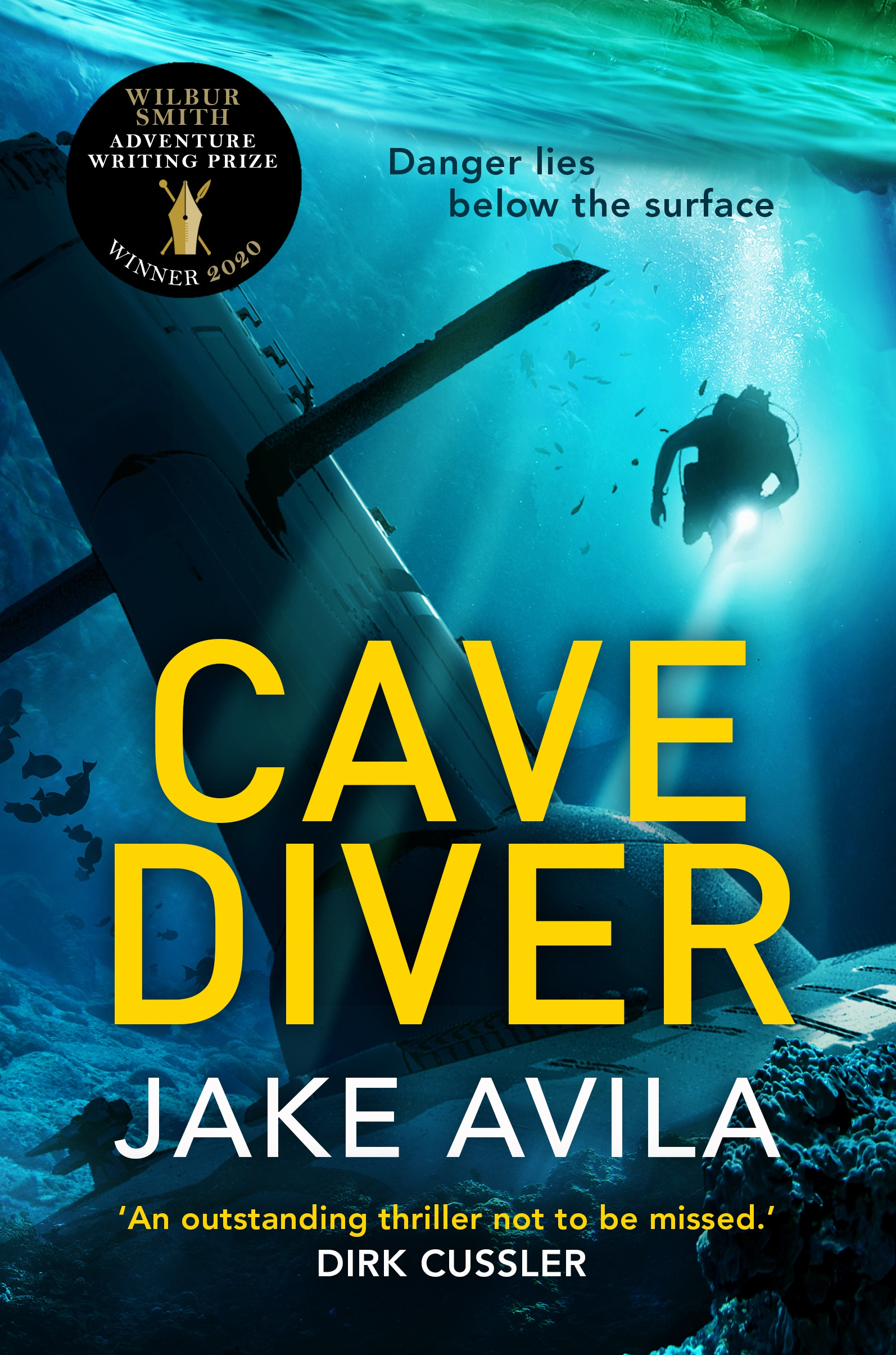 Extract - Cave Diver by Jake Avila