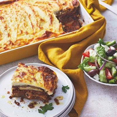 The Heart Health Guide: Vegetarian Moussaka with Lentil Bolognese