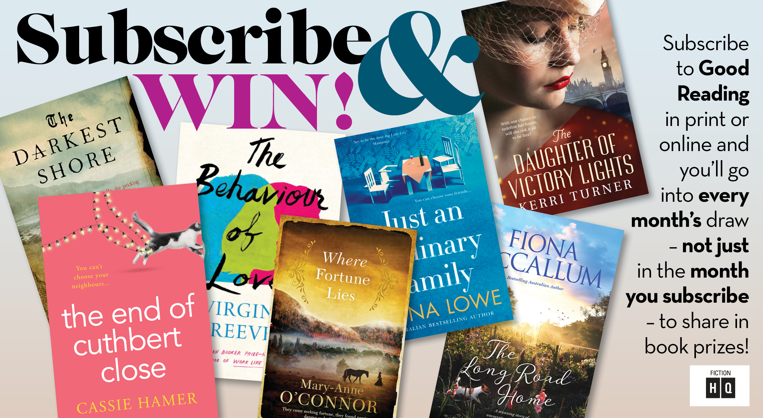 Subscribe & Win April