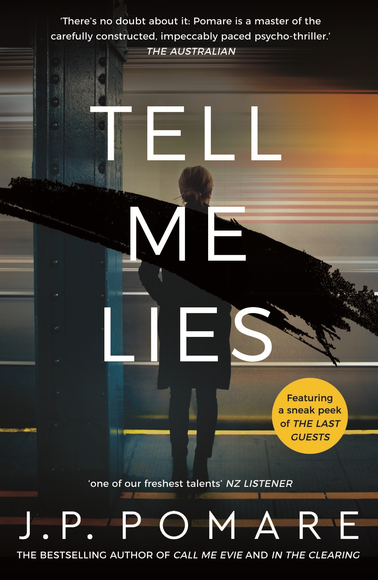 Tell Me Lies by J P Pomare