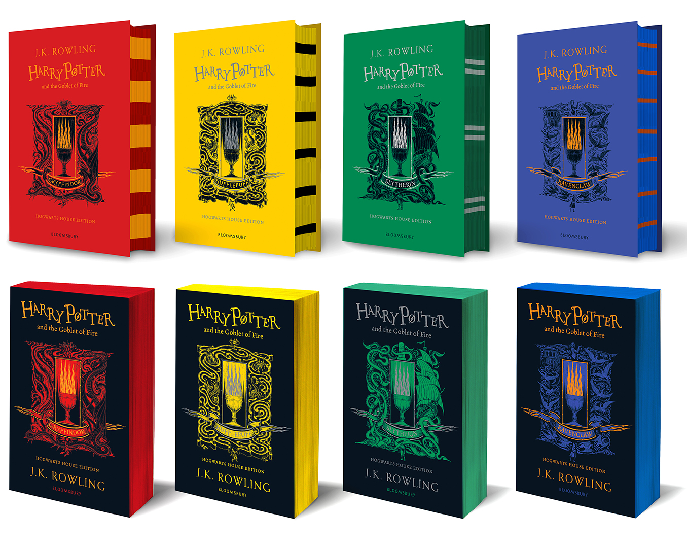 Goblet of Fire new editions
