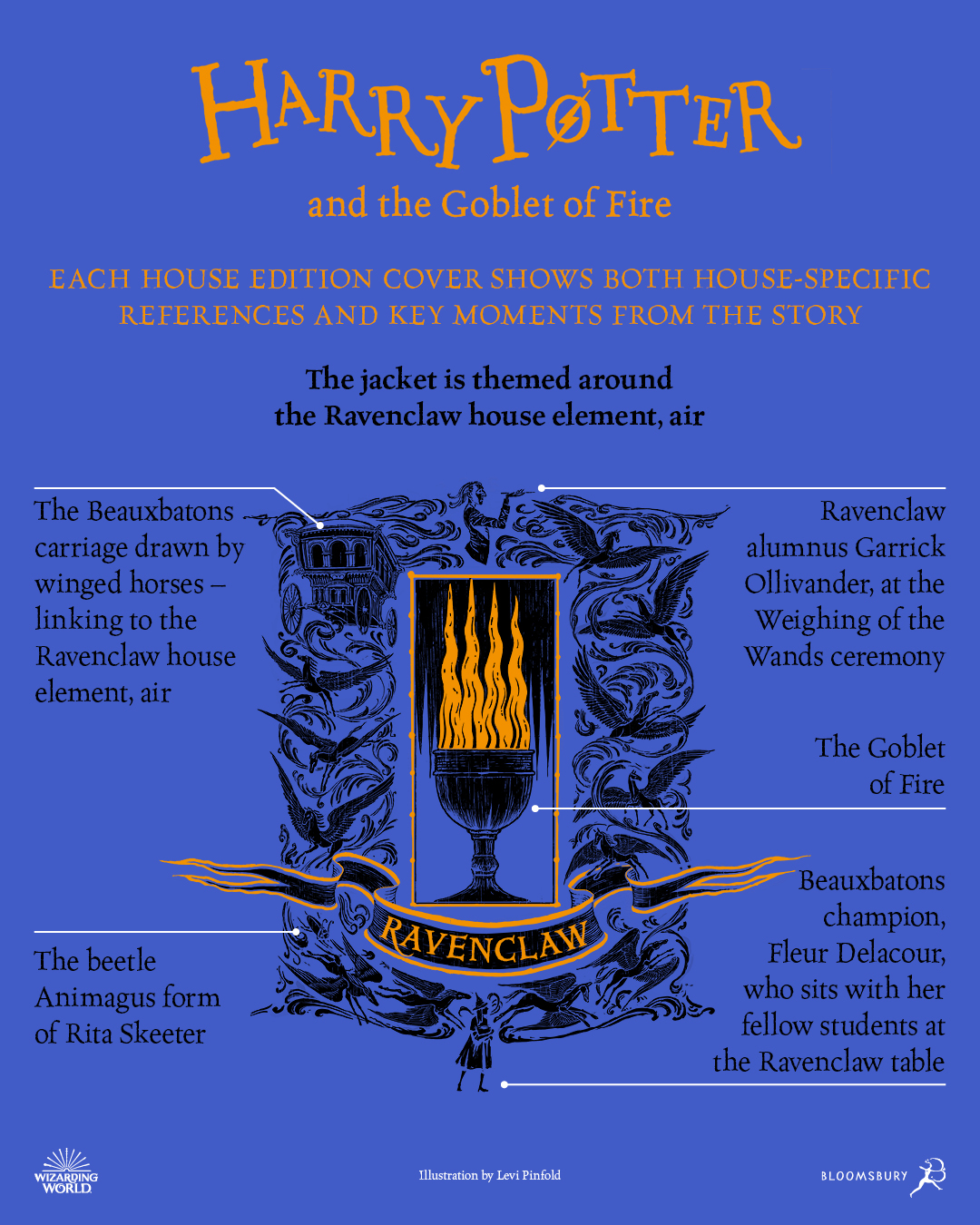 Ravenclaw illustrated cover