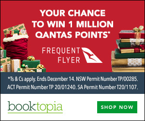 Booktopia Frequent Flyer Promotion